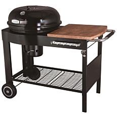 Ψησταριά CAPTAIN COOK κάρβουνου με πλαϊνό τραπέζι