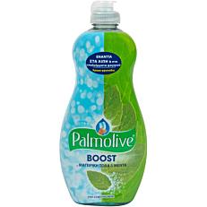 Απορρυπαντικό πιάτων PALMOLIVE boost με μαγειρική σόδα και μέντα, υγρό (500ml)