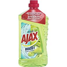 Καθαριστικό AJAX boost για το πάτωμα με άρωμα ξύδι-μήλο, υγρό (1lt)