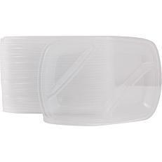 Καπάκια PP για σκεύη 3 θέσεων (50τεμ.)