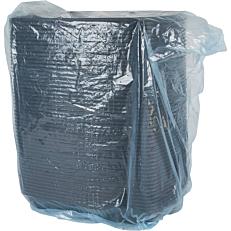Σκεύη PP μαύρα 3 θέσεων 175/600/200ml (50τεμ.)