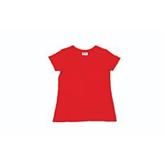 T-Shirt  ZEDEM γυναικείo κοντομάνικο φλάμμα κόκκινο (S-XXL)