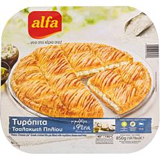Πίτα ALFA τυρόπιτα τσαλακωτή κατεψυγμένη (850g)