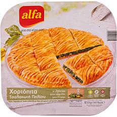 Πίτα ALFA χορτόπιτα τσαλακωτή κατεψυγμένη (850g)