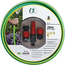 """Λάστιχο SUN κήπου kit 1/2"""" (13mm x 20m)"""