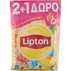 Αφέψημα LIPTON ice tea με ροδάκινο (2+1 δώρο) (3x125g)