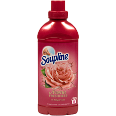 Μαλακτικό ρούχων SOUPLINE τριαντάφυλλο & ξύλο κέδρου συμπυκνωμένο (28μεζ.)