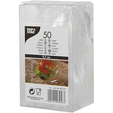 Κουταλάκια πλαστικά διαφανή (50τεμ.)