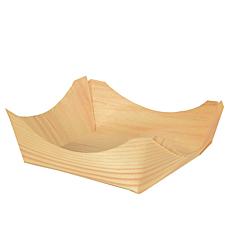 Μπολ ξύλινα PURE 8x8x3cm (50τεμ.)