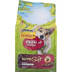 Ξηρά τροφή FRISKIES σκύλου mini menu nutri soft (1,4kg)