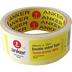 Ταινία ANKER διπλής όψης 10m x 38mm