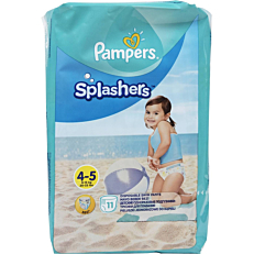 Πάνες PAMPERS Splashers No.4-5, 9-15kg (11τεμ.)