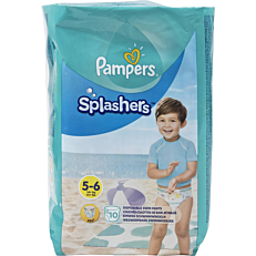 Πάνες PAMPERS Splashers No.5-6, 14kg+ (10τεμ.)