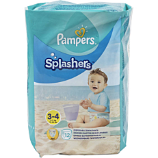 Πάνες PAMPERS Splashers No.3-4, 6-11kg (12τεμ.)