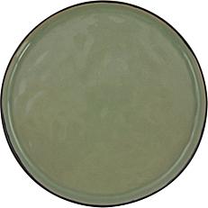 Πιάτο ρηχό κεραμικό GUSTA πράσινο Φ20,5cm