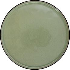 Πιάτο ρηχό κεραμικό GUSTA πράσινο Φ26,5cm