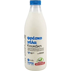 Γάλα φρέσκο ΦΑΡΜΑ ΚΟΥΚΑΚΗ 3,7%-4,1% (1lt)