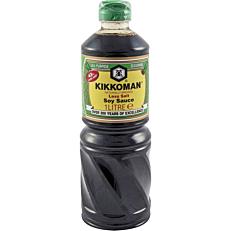 Σάλτσα KIKKOMAN soy sauce less salt (1lt)