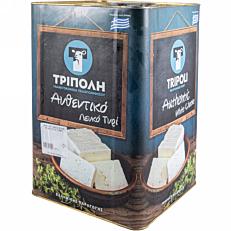 Τυρί ΤΡΙΠΟΛΗ αυθεντικό λευκό (15kg)