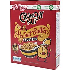 Δημητριακά KELLOGG'S Crunchy Nuts με φυστικοβούτυρο (525g)