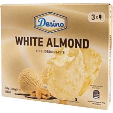 Παγωτό DESINO ξυλάκια white almond (3x120ml)