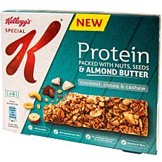 Μπάρες δημητριακών KELLOGG'S πρωτεΐνης με φιστίκι (4x28g)