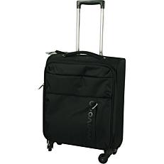 Βαλίτσα καμπίνας μαύρη 55x20x39cm