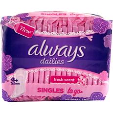 Σερβιετάκια ALWAYS normal fresh singles (20τεμ.)