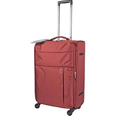 Βαλίτσα κόκκινη με 4 ρόδες, 69x25x43
