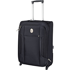 Βαλίτσα καμπίνας DELSEY μαύρη 55x40x20cm