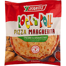Πίτσα IFANTIS Rock n Roll μαργαρίτα κατεψυγμένη (2τεμ.)