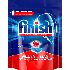 Απορρυπαντικό FINISH all in 1 πλυντηρίου πιάτων λεμόνι, σε κάψουλες (27τεμ.)