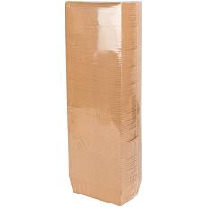 Σκαφάκι τυπωμένο κραφτ 15,3x8,2x4,8cm (100τεμ.)