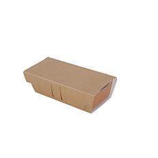 Κάλυμμα τυπωμένο κραφτ για σκαφάκια 21,5x10x5cm (50τεμ.)