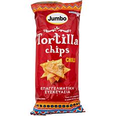 Τσιπς τορτίγια JUMBO nacho chili (400g)