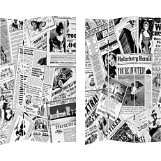 Διαχωριστικό χώρου newspaper 120x2,5x180