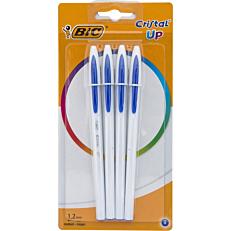 Στυλό διαρκείας BIC cristal UP μπλε