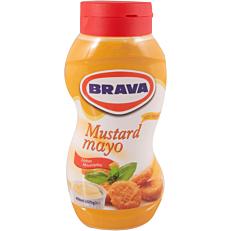 Σάλτσα BRAVA μαγιονέζα με μουστάρδα (450g)