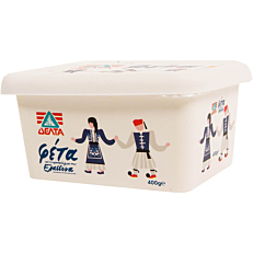 Τυρί ΔΕΛΤΑ φέτα (400g)