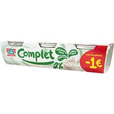Γιαούρτι επιδόρπιο ΔΕΛΤΑ COMPLET 2% λιπαρά -1€ (3x200g)