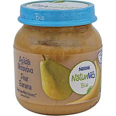 Παιδική κρέμα NESTLE NaturNes αχλάδι μπανάνα (bio) (125g)