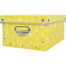 Κουτί οργάνωσης PP XL flamingo κίτρινο