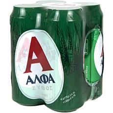 Μπύρα ΑΛΦΑ (6x4x500ml)