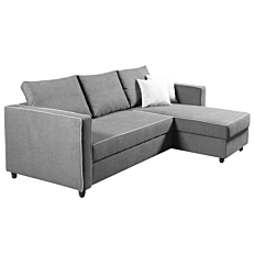 Καναπές - κρεβάτι lenox γωνιακός γκρι