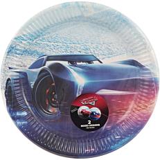 Πιάτα χάρτινα με σχέδιο Cars Legend 23cm (8τεμ.)