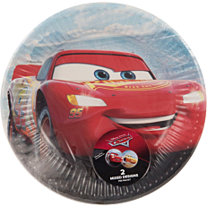 Πιάτα χάρτινα με σχέδιο Cars Legend 20cm (8τεμ.)