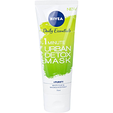 Μάσκα NIVEA Daily Essentials 1 minute detox (75ml)