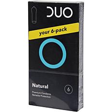 Προφυλακτικά DUO Natural (6τεμ.)