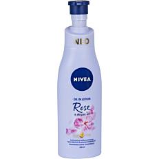 Λοσιόν σώματος NIVEA Rose & Argan oil (200ml)