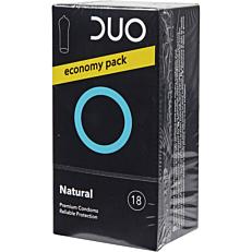 Προφυλακτικά DUO Natural (18τεμ.)